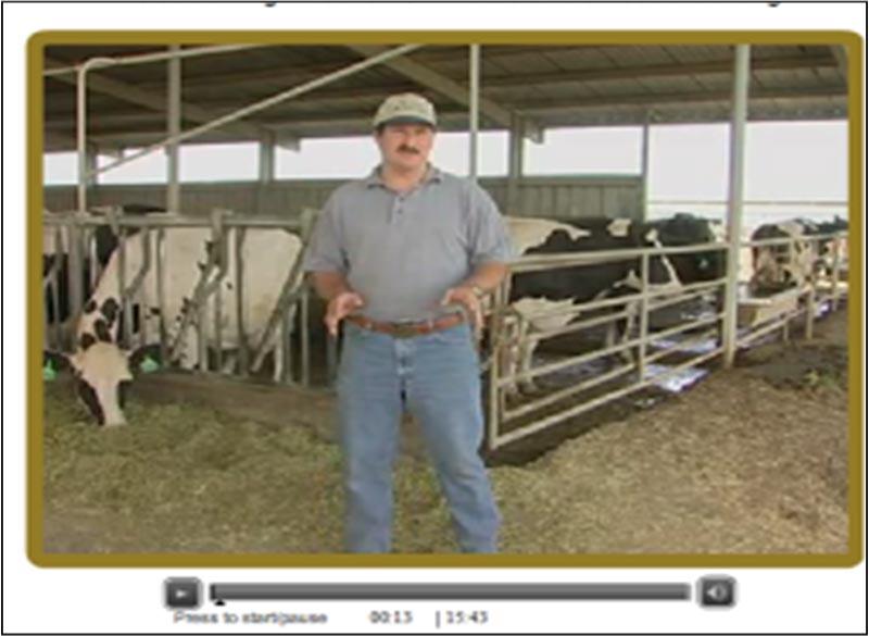 Dairyman Ted