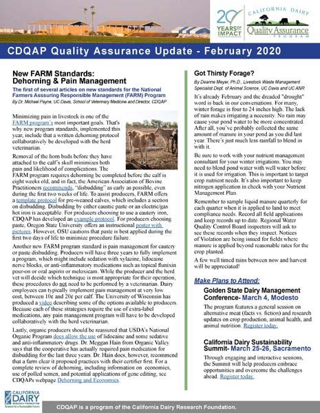CDQAP Newsletter February 2020