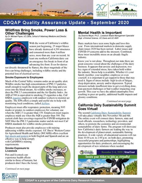 cdqap newsletter september 2020