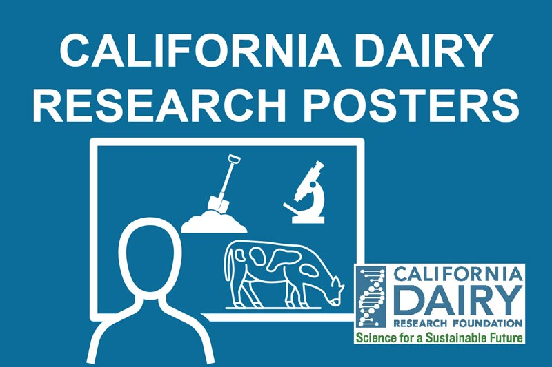 California Dairy Research Posters