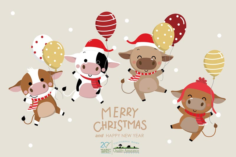 Cow Christmas from CDQAP