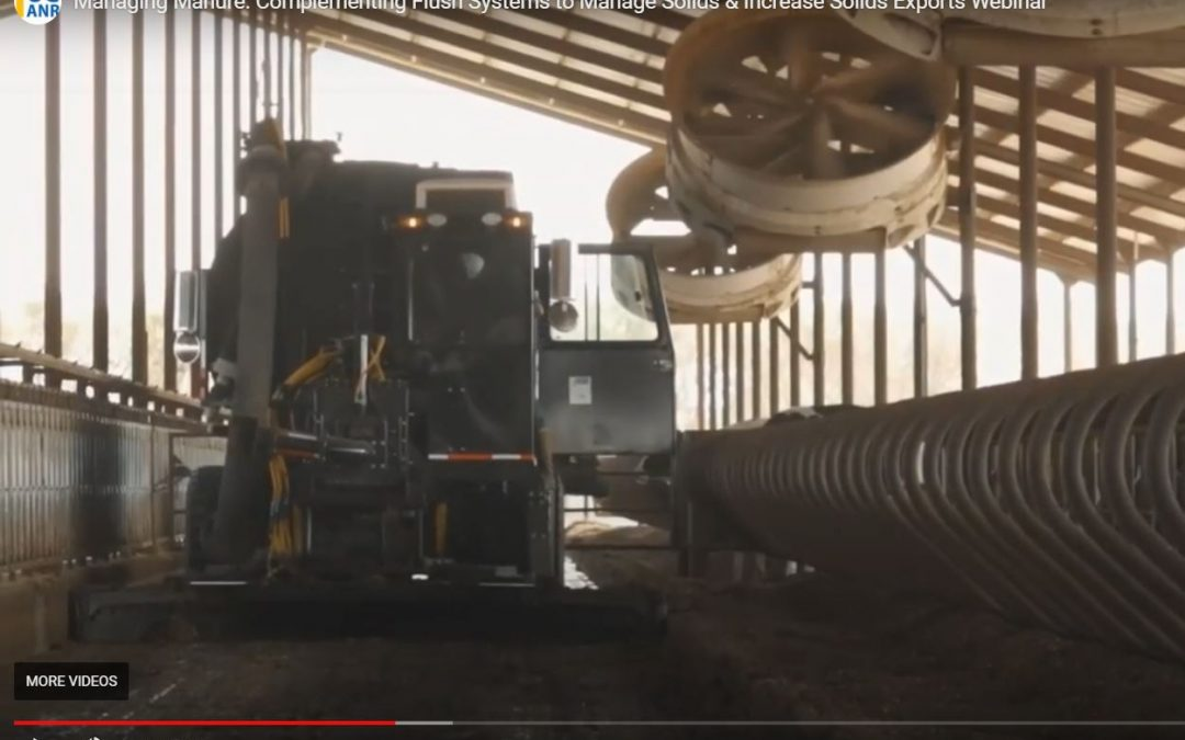 Complementing Flush Manure Systems to Manage Solids & Increase Solids Exports