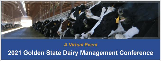 Tune in Next Week! Golden State Dairy Management Webinars