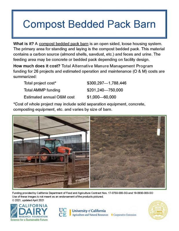 compost bed pack barn